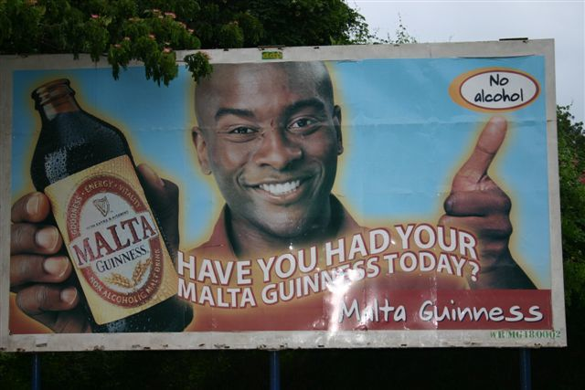 Billboard in Africa